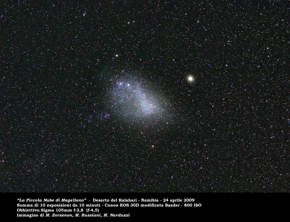 Small Magellanic Cloud: 300 KB; click on the image to enlarge